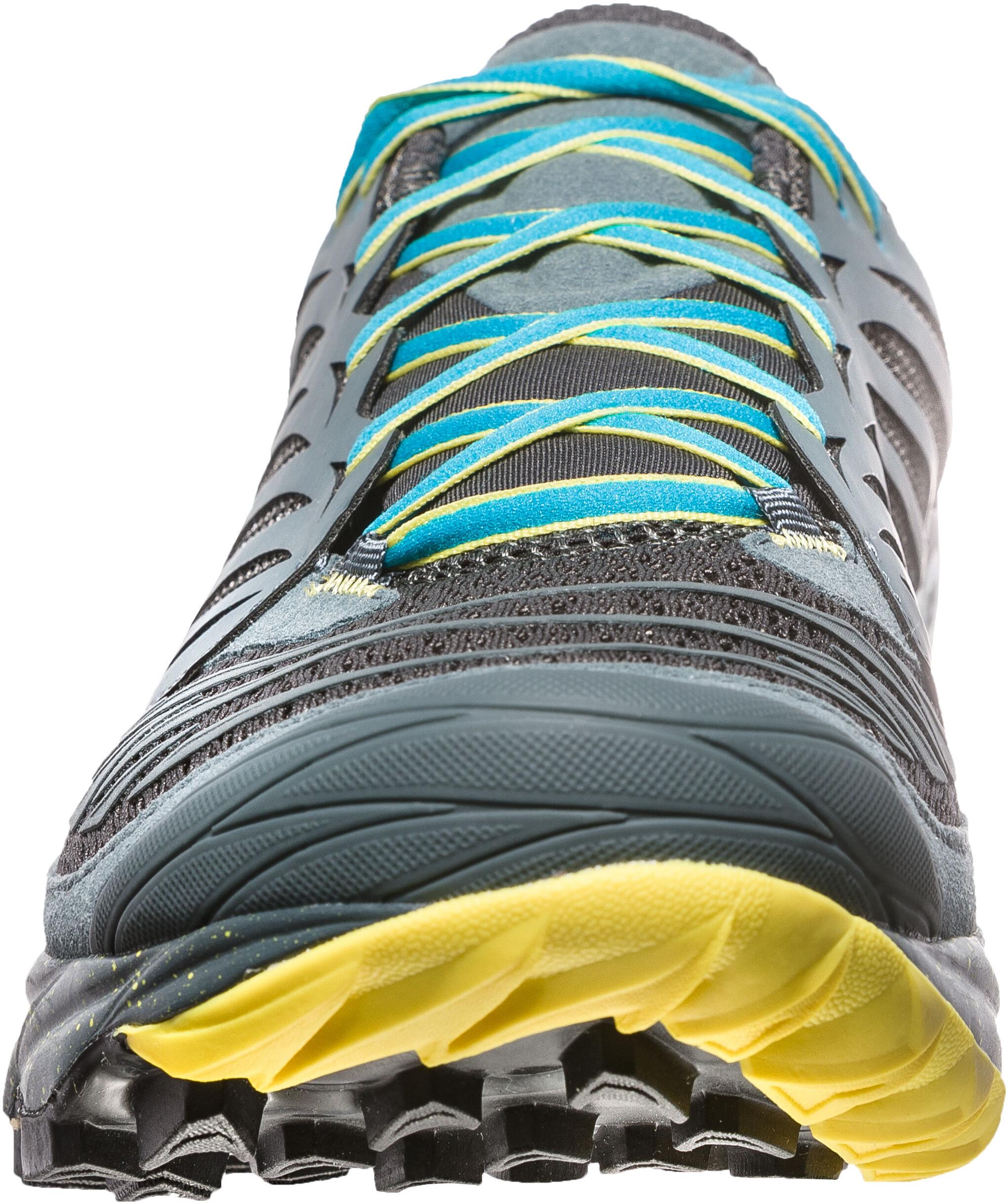 La Sportiva Akasha scarpe da corsa Uomo grigio turchese su Addnature 3b29d3aff25